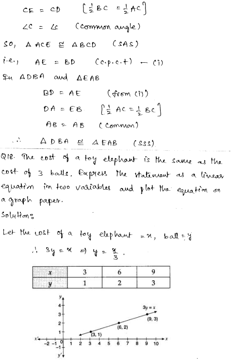 Sample Papers for Class 9 Maths Solved paper 4 9