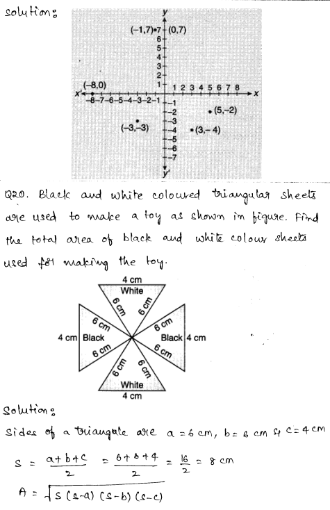 Maths Sample Question Papers for Class 9 Set 5 11