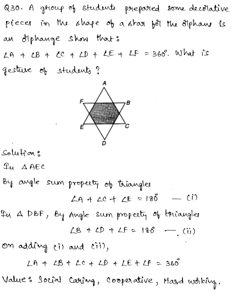 Maths Sample Papers for Class 9 Set 5 20