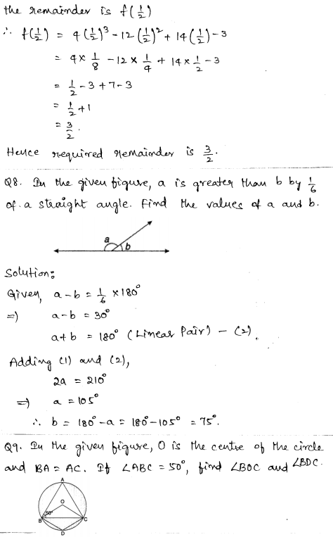 Maths Sample Question Papers for Class 9 Set 5 3