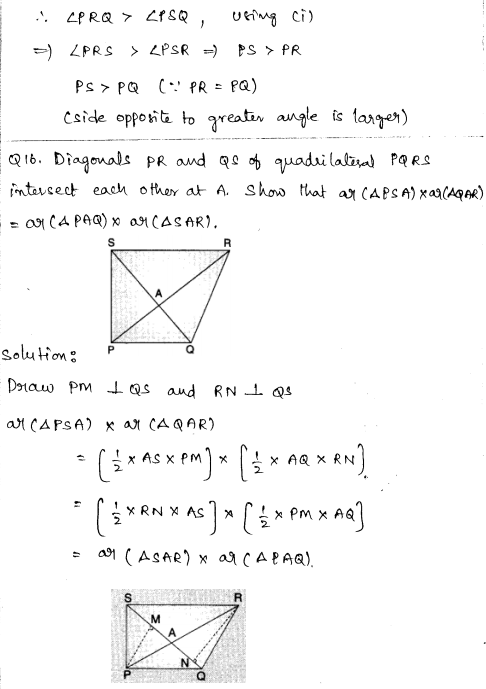 Solved CBSE Sample Papers for Class 9 Maths Paper 5 8