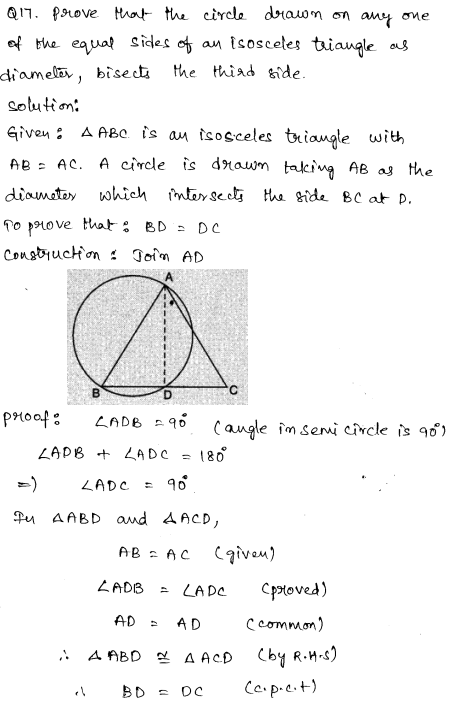 Sample Papers for Class 9 Maths Solved paper 5 9
