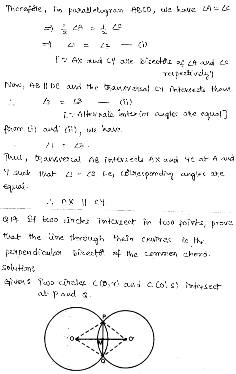 Solved CBSE Sample Papers for Class 9 Maths Paper 6 10