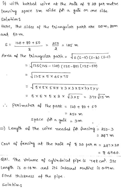 Maths Sample Papers for Class 9 Set 6 12