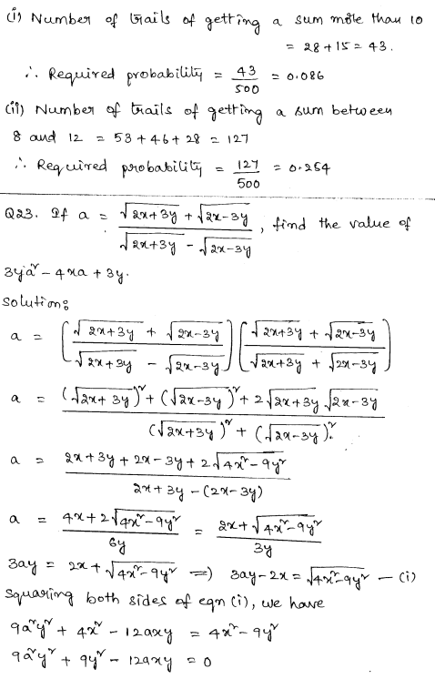 CBSE Sample Papers for Class 9 Maths Set 6 14