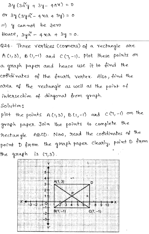 CBSE Sample Papers for Class 9 Maths Solved paper 6 15