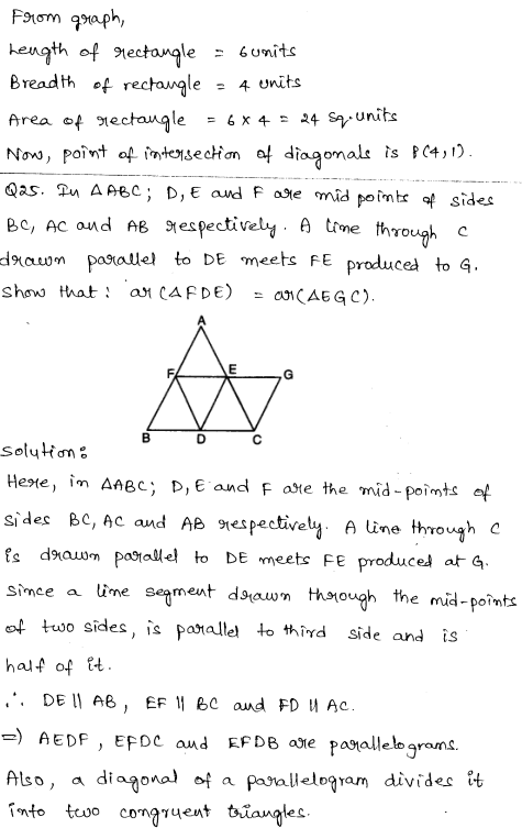 Solved CBSE Sample Papers for Class 9 Maths Paper 6 16