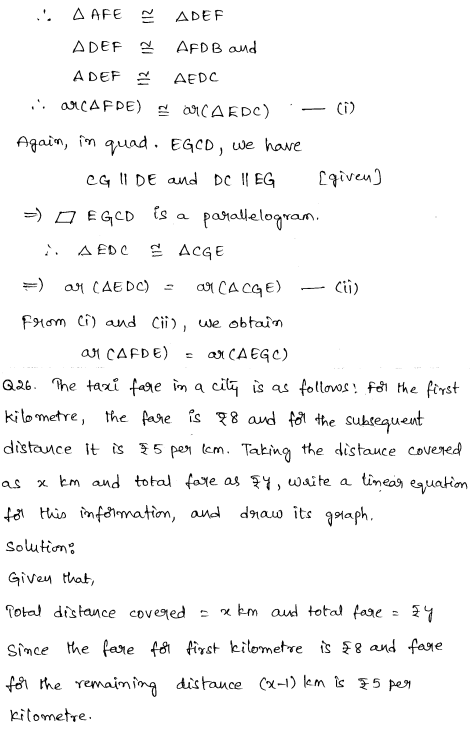 Sample Papers for Class 9 Maths Solved paper 6 17