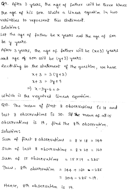 Maths Sample Papers for Class 9 Set 6 4