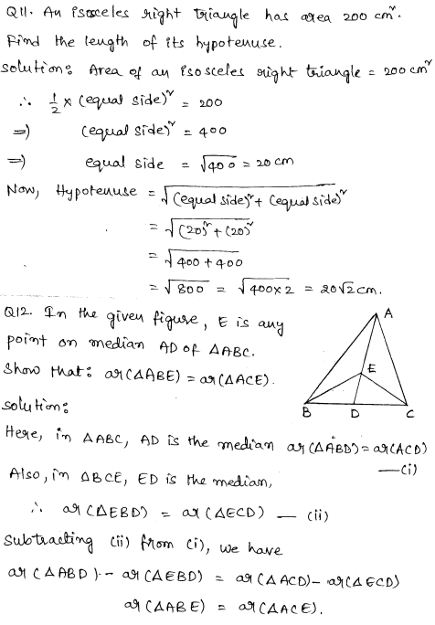 Sample Papers for Class 9 Maths Solved paper 6 5