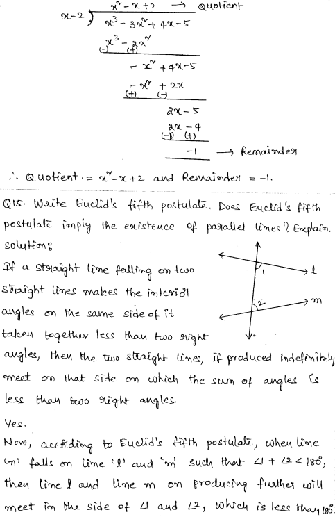 CBSE Sample Papers for Class 9 Maths Solved paper 6 7