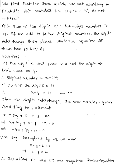 Solved CBSE Sample Papers for Class 9 Maths Paper 6 8