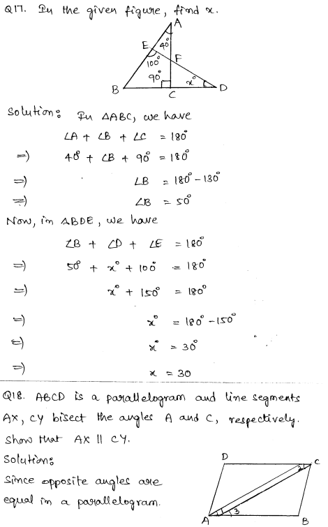Sample Papers for Class 9 Maths Solved paper 6 9