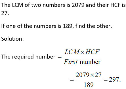 Product of Numbers is Product of HCF and LCM