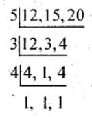 Problems on LCM Method of Division Ex 10