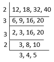 Problems on LCM Method of Division Ex 5