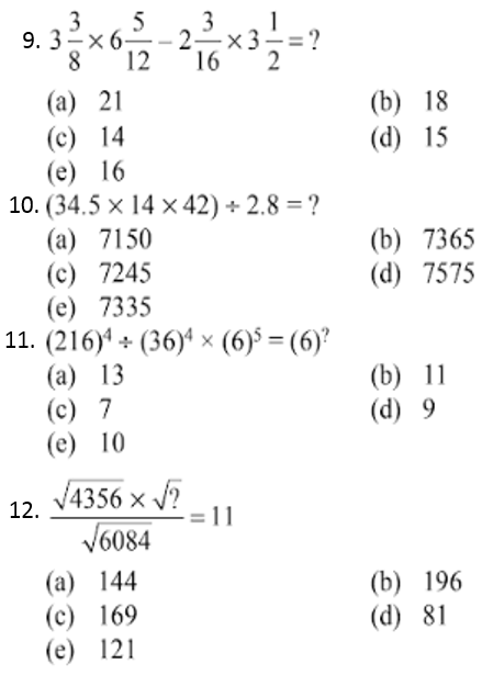 Simplification Questions for IBPS CLERK 2013 3