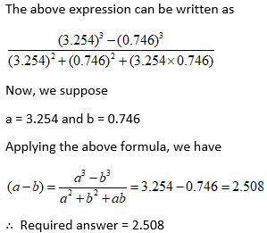 Simplification Question and Answers on Algebraic Expressions 10 i