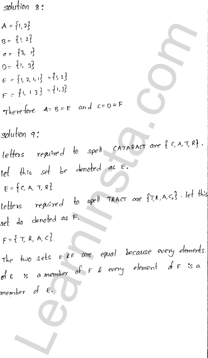 RD Sharma Class 11 Solutions Chapter 1 Sets Ex 1.3 3
