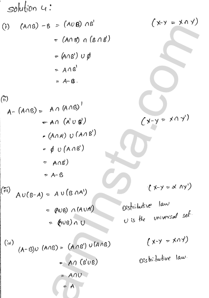 RD Sharma Class 11 Solutions Chapter 1 Sets Ex 1.7 3
