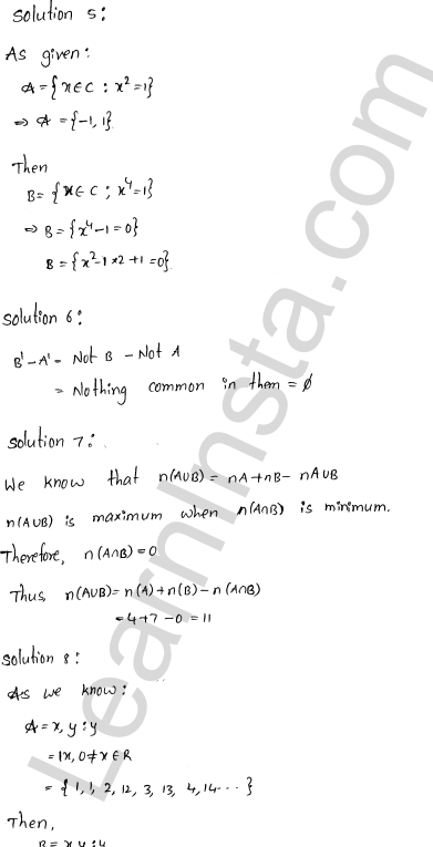 RD Sharma Class 11 Solutions Chapter 1 Sets Ex 1.8 13