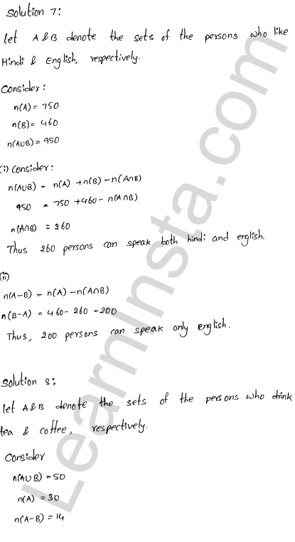 RD Sharma Class 11 Solutions Chapter 1 Sets Ex 1.8 4