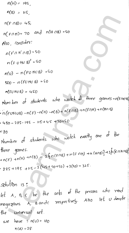 RD Sharma Class 11 Solutions Chapter 1 Sets Ex 1.8 8