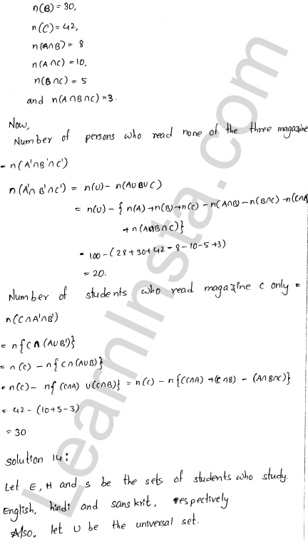 RD Sharma Class 11 Solutions Chapter 1 Sets Ex 1.8 9