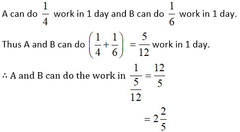 Time and Work Questions 1