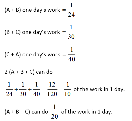 Time and Work Questions 3