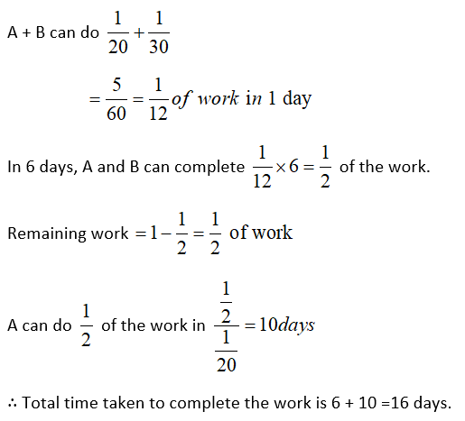 Time and Work Questions 5