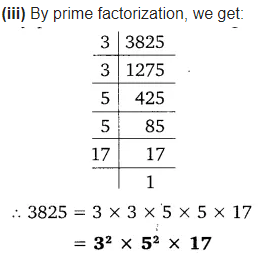 Real Numbers Class 10 Ex 1.2 Q 1 ii