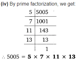 Real Numbers Class 10 Ex 1.2 Q 1 iii
