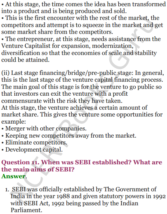NCERT Solutions for Class 12 Entrepreneurship Chapter 6 Resource Mobilization 101