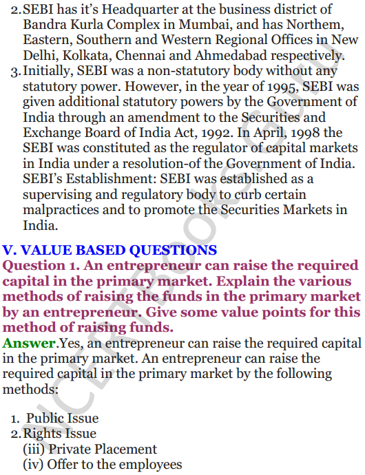 NCERT Solutions for Class 12 Entrepreneurship Chapter 6 Resource Mobilization 102