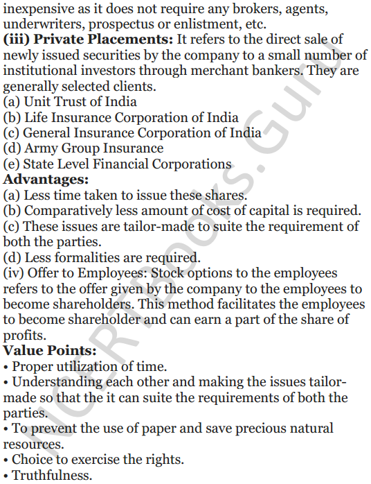 NCERT Solutions for Class 12 Entrepreneurship Chapter 6 Resource Mobilization 104