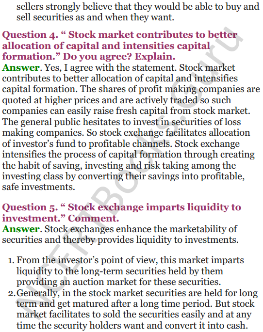 NCERT Solutions for Class 12 Entrepreneurship Chapter 6 Resource Mobilization 110