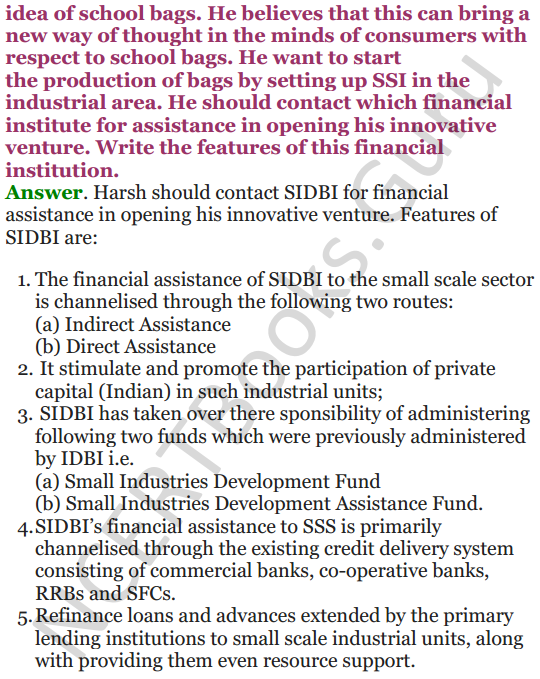 NCERT Solutions for Class 12 Entrepreneurship Chapter 6 Resource Mobilization 117