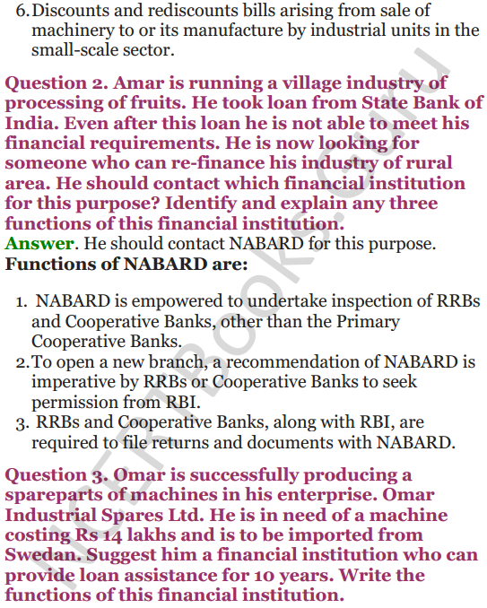 NCERT Solutions for Class 12 Entrepreneurship Chapter 6 Resource Mobilization 118