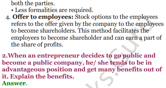 NCERT Solutions for Class 12 Entrepreneurship Chapter 6 Resource Mobilization 20