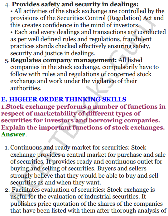 NCERT Solutions for Class 12 Entrepreneurship Chapter 6 Resource Mobilization 30