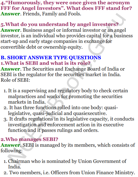 NCERT Solutions for Class 12 Entrepreneurship Chapter 6 Resource Mobilization 33