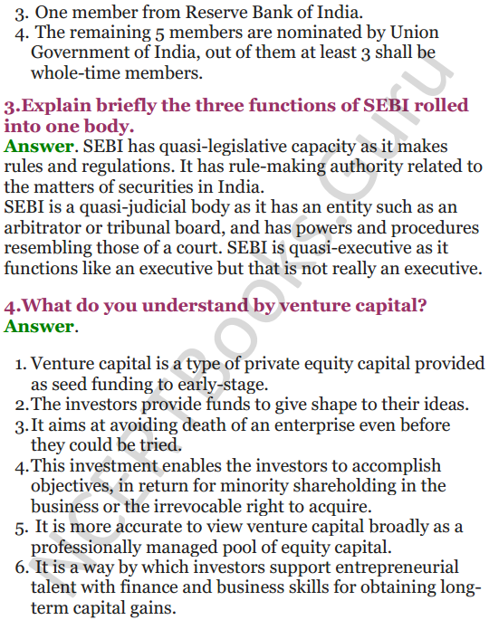 NCERT Solutions for Class 12 Entrepreneurship Chapter 6 Resource Mobilization 34