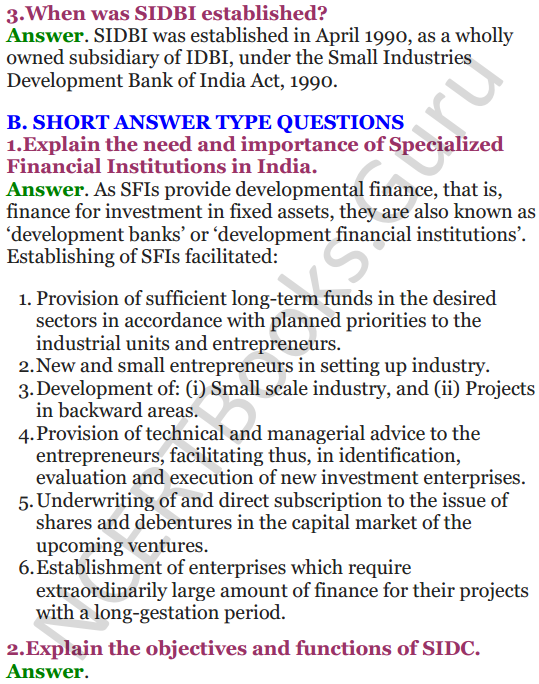 NCERT Solutions for Class 12 Entrepreneurship Chapter 6 Resource Mobilization 40