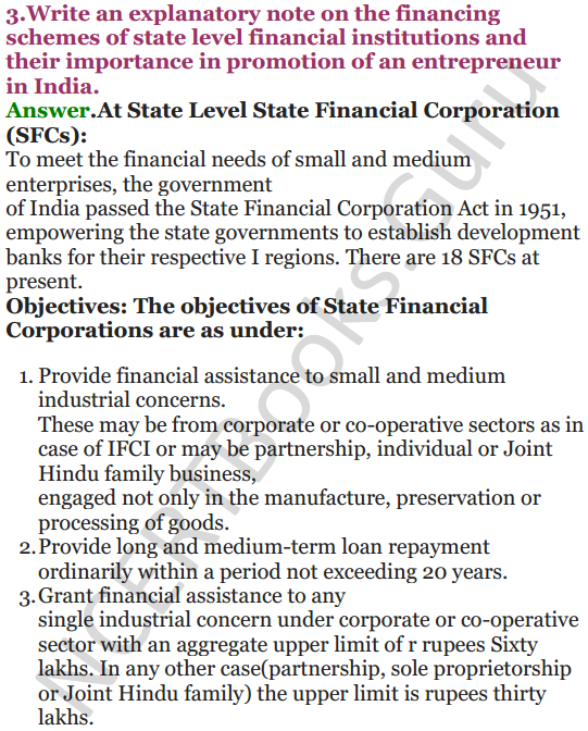 NCERT Solutions for Class 12 Entrepreneurship Chapter 6 Resource Mobilization 44