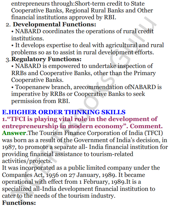 NCERT Solutions for Class 12 Entrepreneurship Chapter 6 Resource Mobilization 50