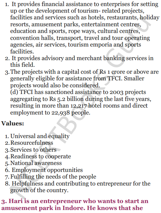 NCERT Solutions for Class 12 Entrepreneurship Chapter 6 Resource Mobilization 51