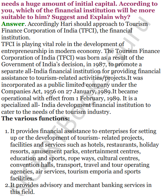 NCERT Solutions for Class 12 Entrepreneurship Chapter 6 Resource Mobilization 52