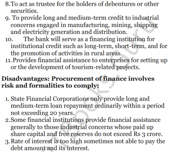 NCERT Solutions for Class 12 Entrepreneurship Chapter 6 Resource Mobilization 56