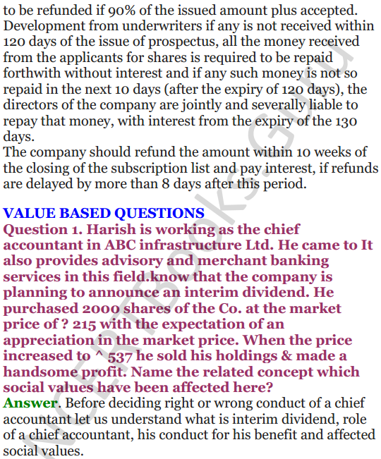 NCERT Solutions for Class 12 Entrepreneurship Chapter 6 Resource Mobilization 59